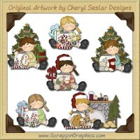 Bridget's Christmas Morning Limited Pro Clip Art Download