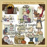 Giant Singles Collection Volume 1 Clip Art Download