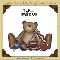 Toy Bear Single Graphics Clip Art Download