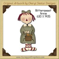 Bittersweet Annie Single Graphics Clip Art Download