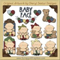 Homespun Babies Limited Pro Graphics Clip Art Download