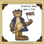 American Bear Single Graphics Clip Art Download