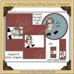 Primsical Snow Gal Wrapper Set Printable Craft Collection Graphi