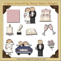 Just Married Graphics Clip Art Download