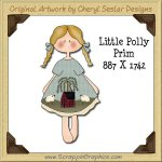 Little Polly Prim Single Graphics Clip Art Download