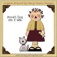 Annie's Dog Single Clip Art Graphic Download