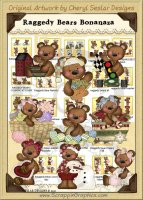 Raggedy Bears Bonanza Collection Graphics Clip Art Download