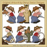 My Little Boy Cowboys Limited Pro Graphics Clip Art Download