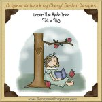 Under The Apple Tree Single Graphics Clip Art Download