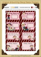 Annie Be Mine Snippets Journaling Tags