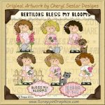 Bertilda's Bless My Blooms Limited Pro Clip Art Graphics