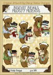 Biscuit Bear's Frosty Friends Limited Pro Clip Art Graphics