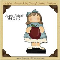 Apple Abigail Single Clip Art Graphic Download