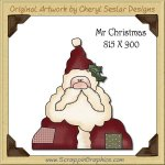 Mr. Christmas Single Graphics Clip Art Download