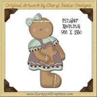 Ginger Momma Single Graphics Clip Art Download