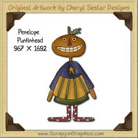 Penelope Punkinhead Single Graphics Clip Art Download