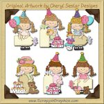 Happy Lulu Birthday Tags Limited Pro Clip Art Graphics