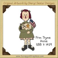 Prim Thyme Annie Single Graphics Clip Art Download