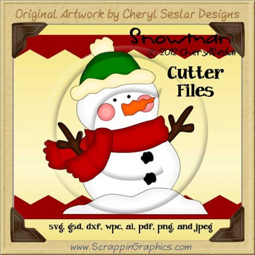 Snowman Cutter Cutting Files Collection
