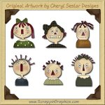 Grubby Annies Collection Graphics Clip Art Download