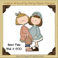 Best Pals Single Graphics Clip Art Download