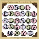 Chic Boutique Alphabet & Numbers Clip Art Download