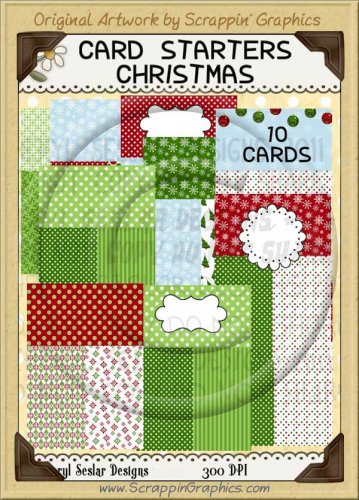 Card Starters Christmas Limited Pro Clip Art Graphics