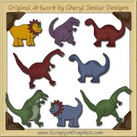 Little Dino Limited Pro Graphics Clip Art Download