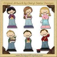 Tween Scene Limited Pro Printable Craft Collection Graphics Clip