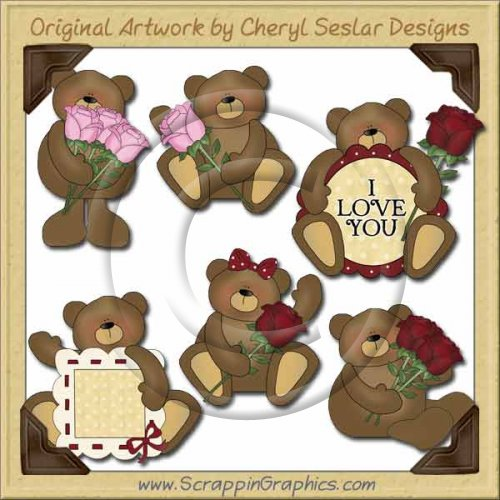 Love Bears Collection Graphics Clip Art Download