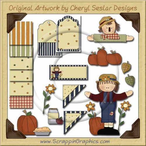 Autumn Wishes Graphics Clip Art Download