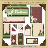 Fantasy Journaling Delights Digital Scrapbooking Graphics Clip Art Download