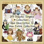 Giant Singles Clip Art Graphic Collection Volume 3 Download
