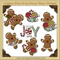 Christmas Treats Clip Art Download