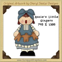 Annie's Little Gingers Single Graphics Clip Art Download