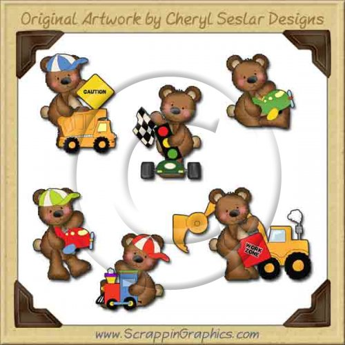 Raggedy Bears All Boys Graphics Clip Art Download