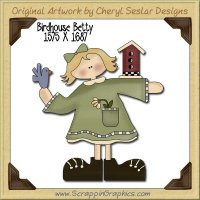 Birdhouse Betty Single Graphics Clip Art Download