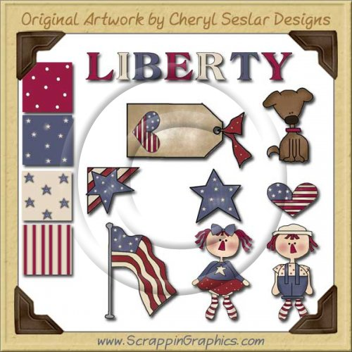 Patriotic Pals Graphics Clip Art Download