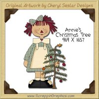 Annie's Christmas Tree Single Clip Art Graphic Download