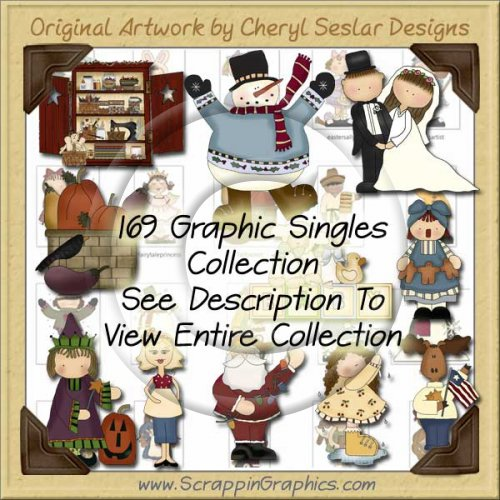 Giant Singles Collection Volume 2 Clip Art Download