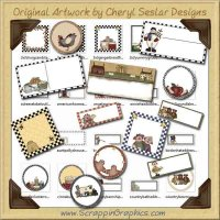 Super Label Collection Printable Crafts Graphics Download