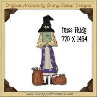 Miss Hildy Single Graphics Clip Art Download