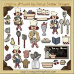 Annie's Kitchen Collection Clip Art Download