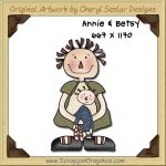 Annie & Betsy Single Graphics Clip Art Download
