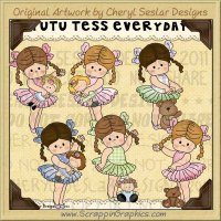 Tutu Tess Everyday Limited Pro Clip Art Graphics