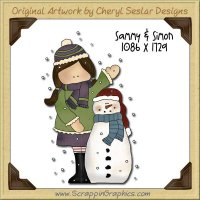 Sammy & Simon Single Graphics Clip Art Download