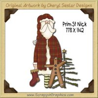 Prim St Nick Single Graphics Clip Art Download