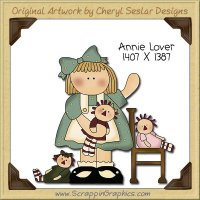 Annie Lover Single Clip Art Graphic Download