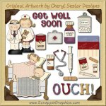 Get Well Collection Graphics Clip Art Download