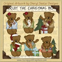 Biscuit The Christmas Bear Limited Pro Clip Art Graphics